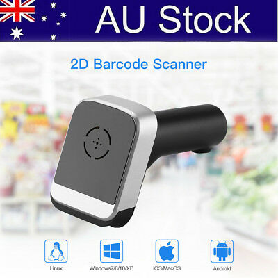 Handheld 3 IN 1 Wired & BT4.0 & 2.4G Wireless 2D Barcode Scanner for Android POS