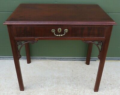 Antique Georgian Mahogany Writing Table Dressing Table Desk Lovely Quality
