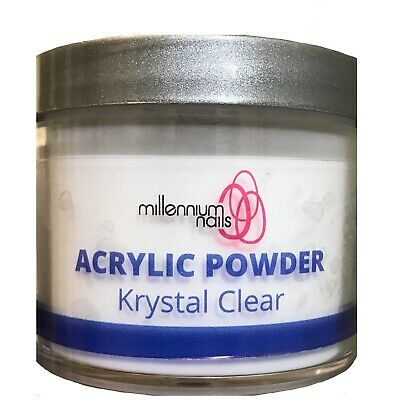 Millennium nails Professional Acrylic  Powder Krystal Clear 45g over 2300 sold