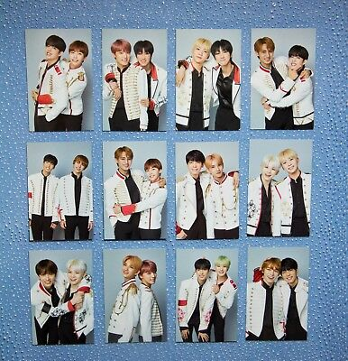 SEVENTEEN Official TRADING CARD  IDEAL CUT FINAL SCENE in SEOUL COUPLE PHOTO