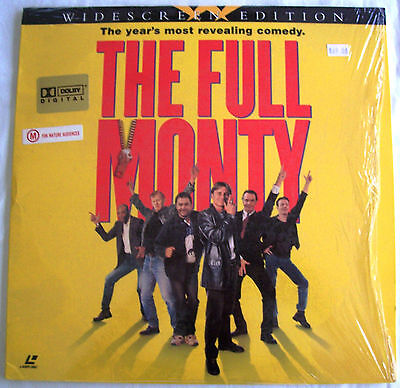 LASERDISC The Full Monty - Cover & Disc are VG to Like New