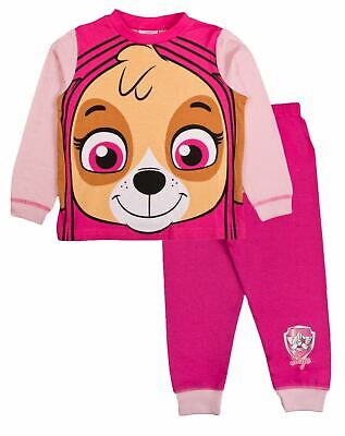 Girls Paw Patrol Pyjamas Skye Pajamas Pjs Set Gift Toddler