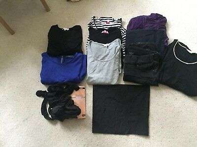 Size 12 Maternity Bundle - Dresses,Tops, Trousers Etc - Red Herring +more