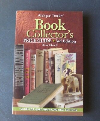 Antique Trader's Book Collector's Price Guide--2009 Softcover--3rd Edition