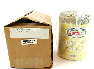 Ford Gold Rotunda 6000 Mile Oil Filter R1-A Mustang Pony Ford Authorized