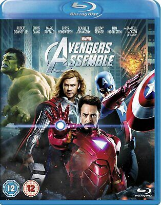 Avengers Assemble   with  Robert Downey Jr. New (Blu-ray  2012)