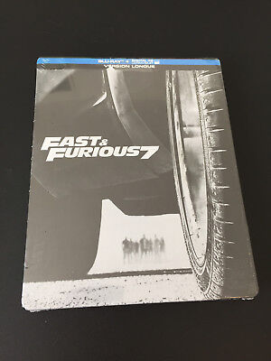 Fast & Furious 7 Bluray Steelbook neuf sous blister
