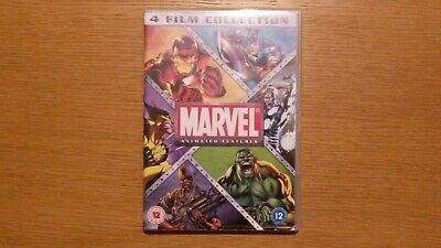 Marvel Animation - 4 Film Collection DVD