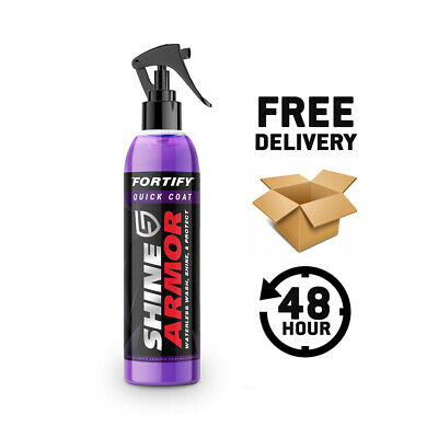 Genuine Shine Armor Fortify Quick Coat -Official Uk Seller