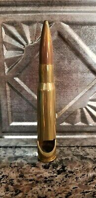 50 Caliber Bullet Bottle Opener Military Collectible