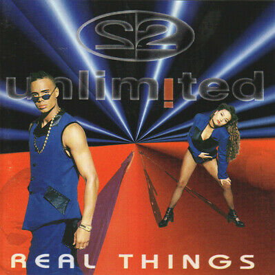 2 Unlimited ‎– Real Things ! CD Album ! Germany 1994 ! 90er Dancefloor
