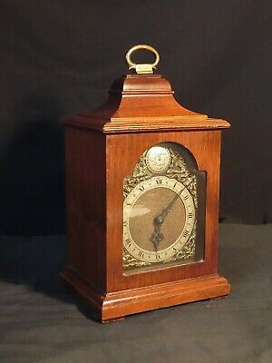 Rotherham Vintage Wooden Case  Bracket Mantel Clock -8 Day, Working