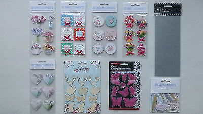 Selection of Crafting Embellishments (Choice of 6)
