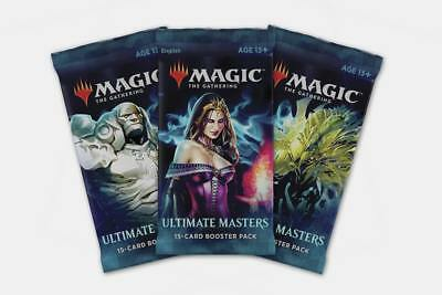 Magic Mtg Ultimate Masters - Booster Pack - Sealed Eng