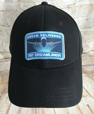 85a9348d12bfe BOEING 787-9 DREAMLINER Hat Baseball Cap Fitted Airplane Information ...