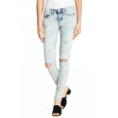 Blank Nyc 153963 The Reade Women's Jeans Classic Skinny Distressed Size 30