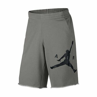 6371c12d1ae Nike Mens Air Jordan City Knit Graphic Shorts Dark Grey/Black All Sizes