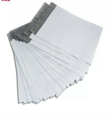 100 14.5 x 20in mailing Bags Envelopes White Plastic Poly Mailers Self Sealing