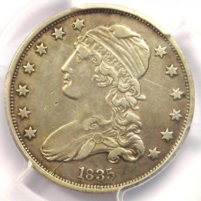 1835 Capped Bust Quarter 25C - Certified PCGS XF Details (EF) - Rare Date Coin!