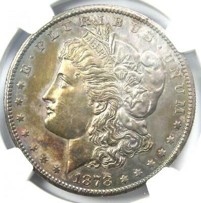 1878-CC Morgan Silver Dollar $1 - Certified NGC Uncirculated Detail (UNC MS)!