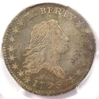 1795 Flowing Hair Half Dollar 50C Coin - Certified PCGS F12 - $2,650 Value!