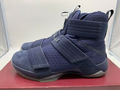 611044fee67 Nike LEBRON Soldier 10 SFG Midnight Navy  844378-444 Size 10