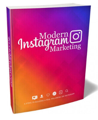 Modern Instagram Marketing With Master Resell Rights Make Money Online Business