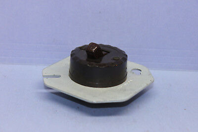 "Vintage GE Round Light/Motor Toggle Switch for 3-1/4"" Junction Box - Single-Pole"