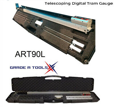 Killer Tools ART90L Telescoping Digital Tram Gauge