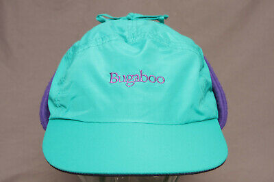 a2cb6b4b86f869 Vtg Columbia Bugaboo XL 5 Panel Winter Hat w/Ear Flaps Fleece Lined Made In