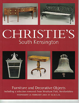 Christie's-Furniture & Decorative Objects Feb 25 2004-Wrotham Park,Hertfordshire