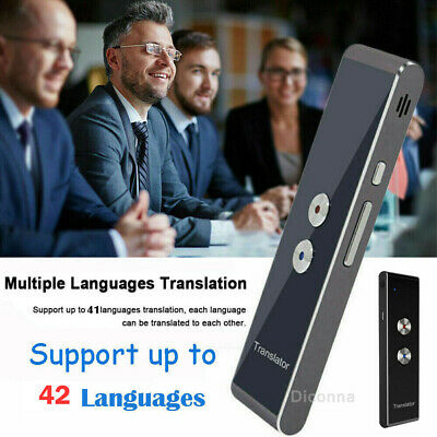 SMART VOICE LANGUAGE Translator Device WiFi 2-Way Instant
