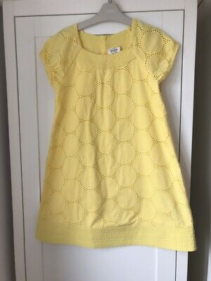 Stunning Girls Yellow Mini Boden Dress Age 9-10 Years Immaculate Condition