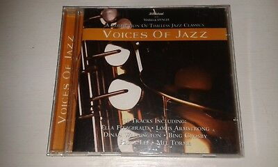 Voices Of Jazz Cd From M&S  Inc Betty Carter Shirley Horn Mel Torme Bing Crosby