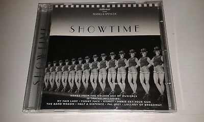 showtime cd : songs from kismet funny face pal joey holiday inn paris etc...