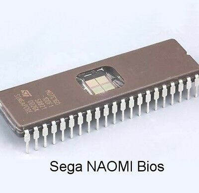 Sega NAOMI 1 / 2 Bios, Original / Multi region, Multibios, Zero Chip Key Netboot
