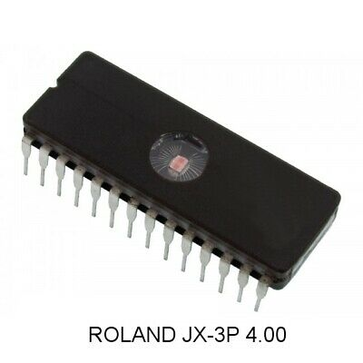 Roland JX-3P Version 4.00 software update OS EPROM FIRMWARE Synthesizer JX3P 4.0