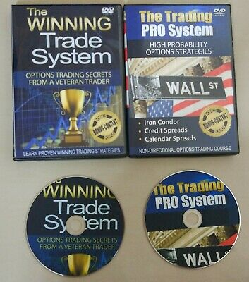 2 DVD Option Pack - The Winning Trade System + Trading Pro System - ETF Options