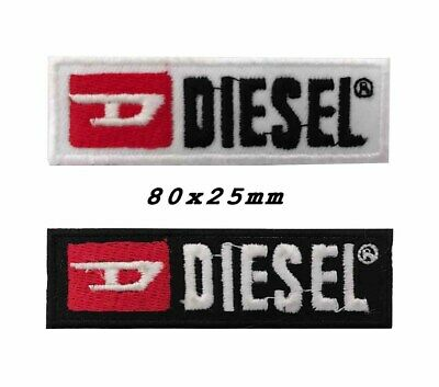embroidered diesel logo iron on patch sew on patch