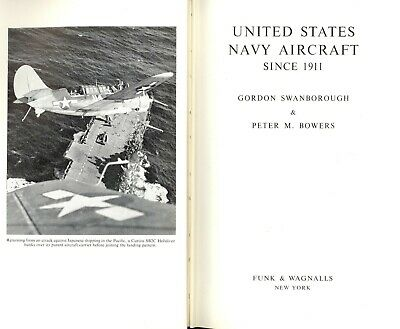 US Navy Aircraft Since 1911, 518 pages