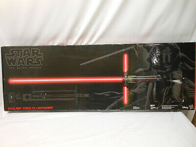 Star Wars The Black Series Kylo Ren Force FX Deluxe Lightsaber - NIB