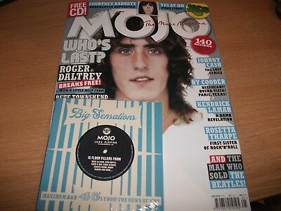 Mojo Magazine + Cd (May 2018) The Who. Courtney Barnett, Johnny Cash, Ry Cooder