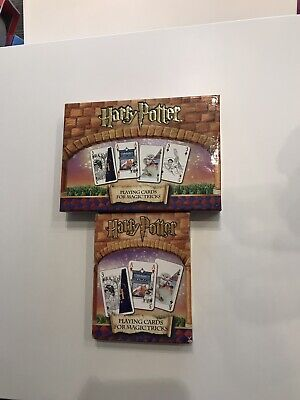 Vintage Collectible HARRY POTTER 'Playing Cards for Magic Tricks'  (Carta Mundi)