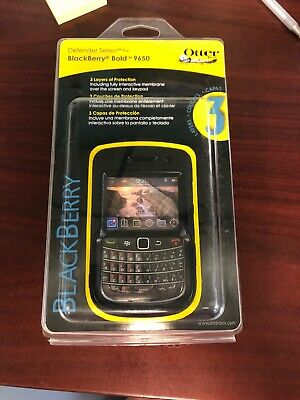 Otterbox Defender dual layer hybrid case + holster for Blackberry Bold 9650, NEW