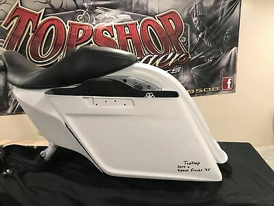 "Top Shop 4.5"" Speed Freak CVO  Rear Fender LED Taillight Kit 14-19 Harley FLH/T"