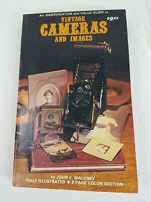 1981 Vintage Cameras and Images Identification Reference Book by John Maloney
