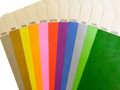 Plain Tyvek Wristbands 100 to 500 (25mm) FAST AND FREE DELIVERY