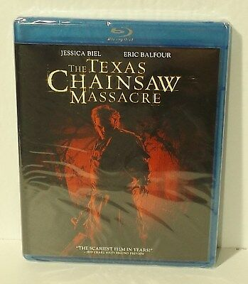 The Texas Chainsaw Massacre (Blu-ray Disc, 2009 remake Jessica Biel NEW REGION A