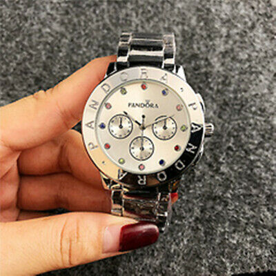 2019 Women's Stainless steel Wristwatches Fashion crystal Pandoras Watch