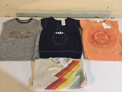 Gymboree Boys Size 2T Long Sleeve T-shirt & Sweatshirts - NEW With Tags